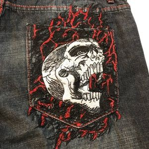 Men's affliction jeans denim killer